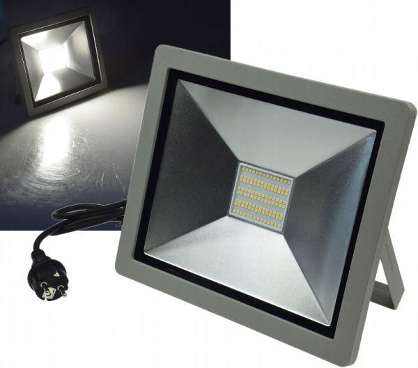 LED-Fluter SlimLine 100W, 230V mit Stecker